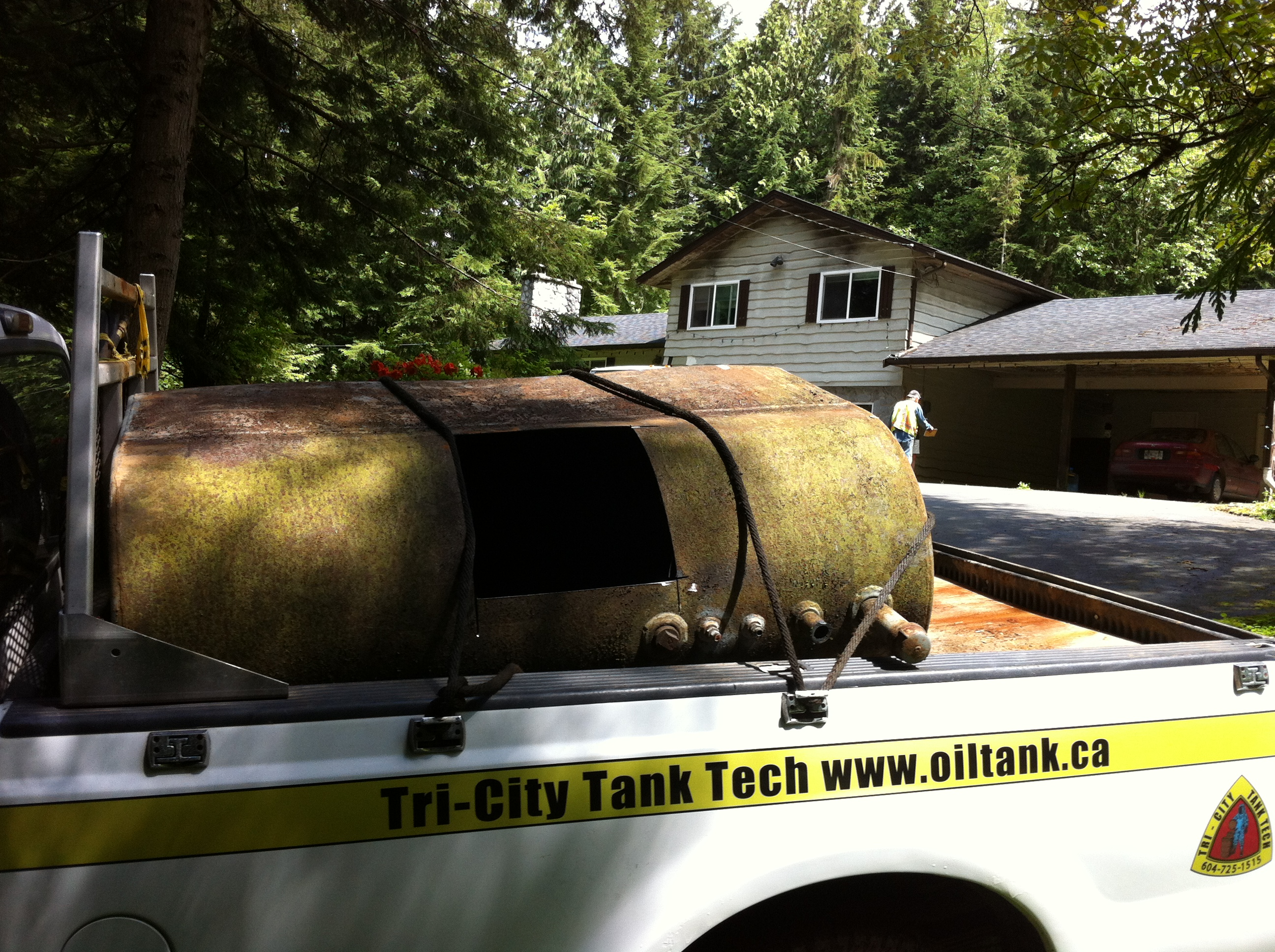 Aboveground Storage Tank Removal Oil Tank Removal Oil