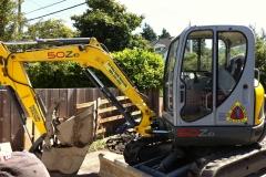 Wacker excavator