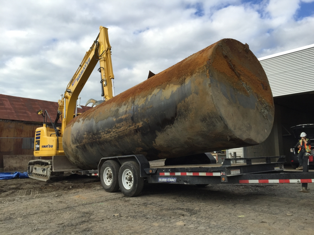 commercial oil tank removal