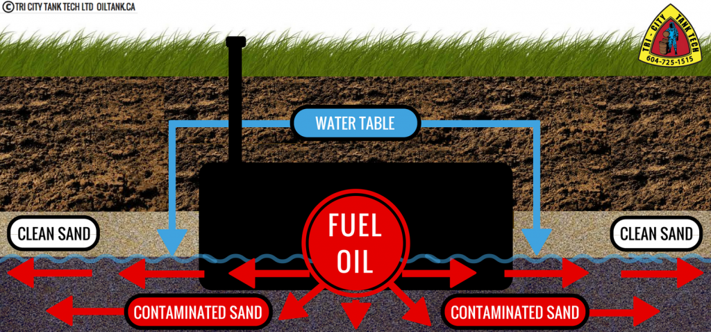 Contaminated soil how do different types of soils react for Soil not oil