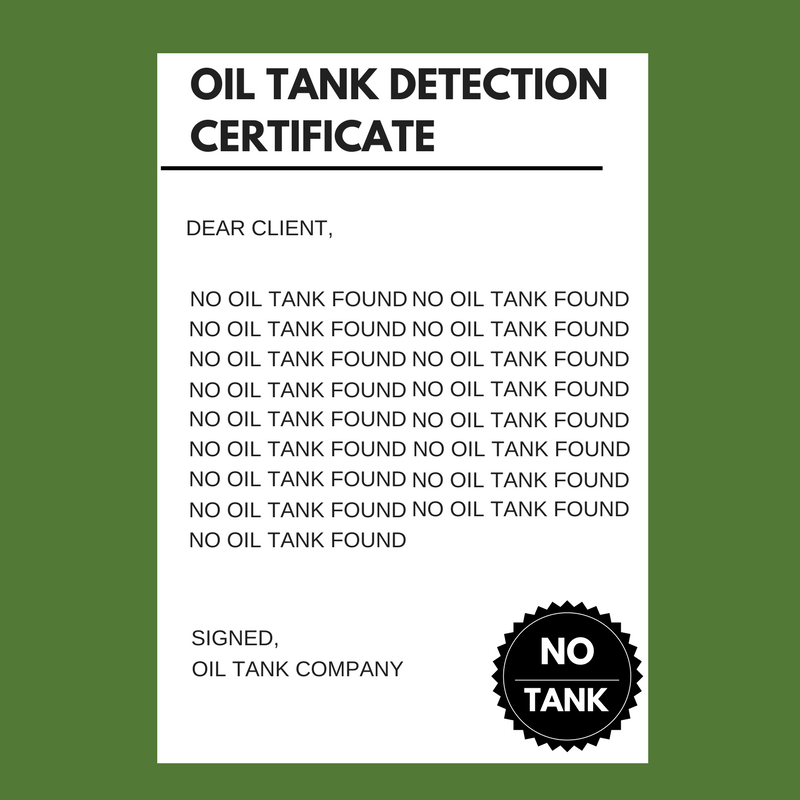 oil-tank-detection-certificate